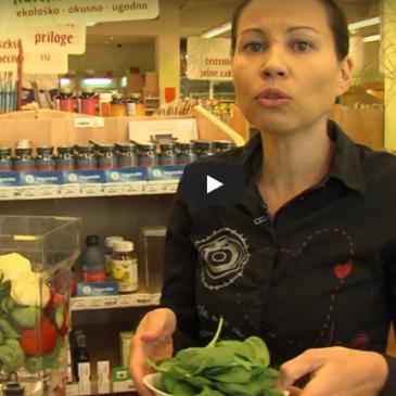 Ščepec Sonnetorja – smoothie za zniževanje sladkorja