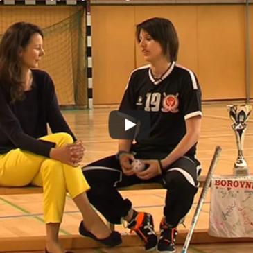 Tanja Matjašević, igralka floorballa in kokosova voda