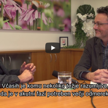 Pogovor z Rolandom J Schoopom: Zdravilo Echinaforce