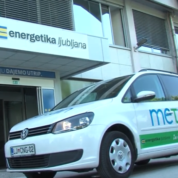 Energetika Ljubljana – vozila na metan